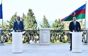 علیاف:درگیری قرهباغ به پایان رسیده،باکو آماده امضای توافق صلح با ایروان است/ارمنستان علیه ما از فسفر سفید استفاده کرد