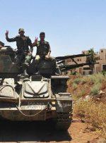 عملیات ارتش سوریه برای پاکسازی تروریستهای درعا
