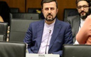 توئیت غریبآبادی درباره توافق آژانس و ایران