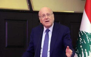 میقاتی در اولین نشست کابینه لبنان: عصای جادویی ندارم