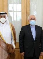 وزیران خارجه ایران و قطر دیدار کردند
