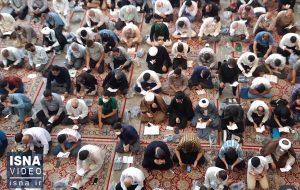 ویدئو / مراسم روز عرفه در قم