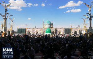 ویدئو / مراسم روز عرفه در مشهد