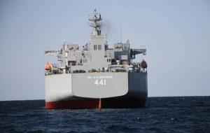 گزارش نیروی دریایی آمریکا از عزیمت کشتیهای جنگی ایران به بالتیک