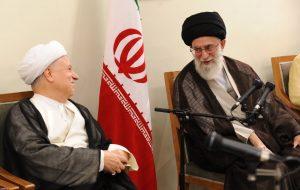 ببینید | گفتگوی منتشرنشده رهبر انقلاب با آیتالله هاشمیرفسنجانی درباره بینتیجه بودن مذاکره با  آمریکا