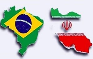 افزایش تجارت ایران و برزیل