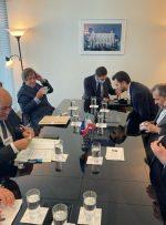 امیرعبداللهیان در دیدار وزیرخارجه فرانسه: ایران در جدیت دولت بایدن در بازگشت به برجام تردید دارد