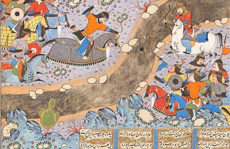نقاشی خسرو پرویز