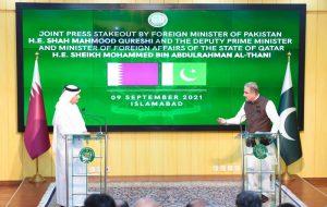 عزیمت وزیرخارجه قطر به پاکستان پس از سفر به ایران