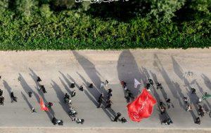 عکس پانورامای ۸ کیلومتری از پیاده روی اربعین رونمایی میشود