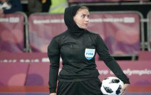 قضاوت اولین داور زن ایرانی، در جام جهانی فوتسال مردان