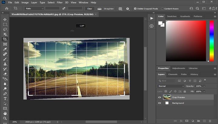 آموزش ادیت عکس و صاف کردن خطوط در فتوشاپ