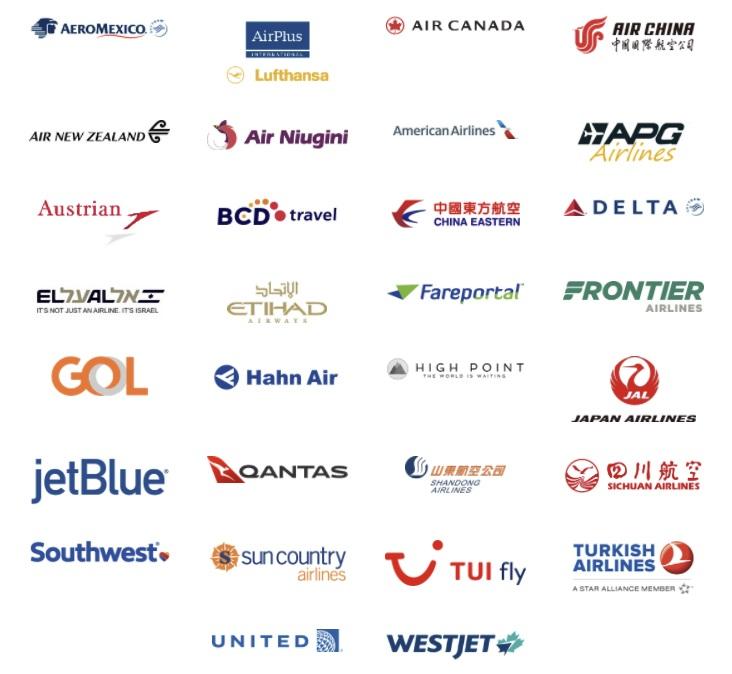 بسیاری از خطوط هوایی اصلی اکنون می توانند ارزهای رمزپایه را از طریق شبکه پرداخت جهانی UATP بپذیرند