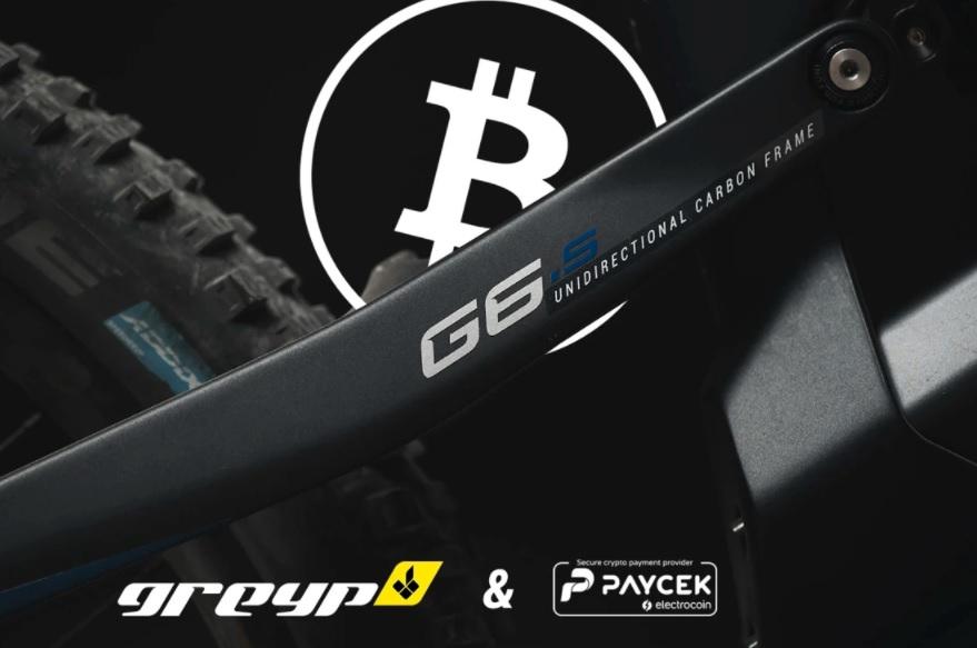 شرکت دوچرخه الکترونیکی کرواسی Greyp Bikes پرداخت های ارز رمزنگاری شده را ادغام می کند
