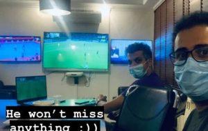 خبرآنلاین – عکس | عادل فردوسیپور اینگونه عاشق و دیوانه فوتبال است