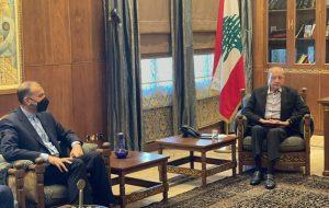 امیرعبداللهیان: ایران میتواند کمبود برق لبنان را برطرف کند