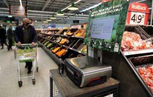 با افزایش قیمت خواربارفروشی درد بیشتری برای مصرف کنندگان بریتانیایی ایجاد می شود