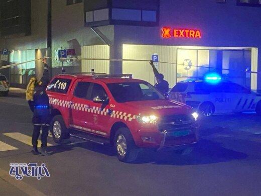 ببینید   اولین ویدیو از لحظه دستگیری قاتل تیروکماندار در نروژ؛ اسکورت بالگرد