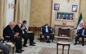 دیدار امیرعبداللهیان با مسئول روابط خارجی جنبش حماس