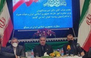 امیرعبداللهیان: پوتین نگاه مثبتی به روابط با ایران دارد
