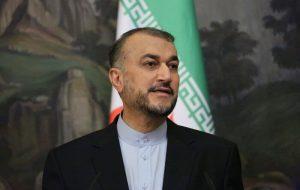پیام امیرعبداللهیان به وزیرامور خارجه عراق