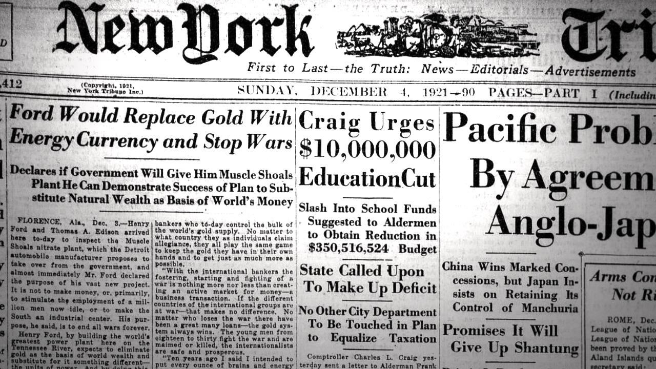چگونه هنری فورد 100 سال پیش بیت کوین را پیش بینی کرد - یک